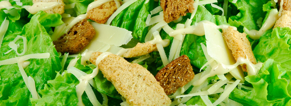 Caesar Salad Close-Up