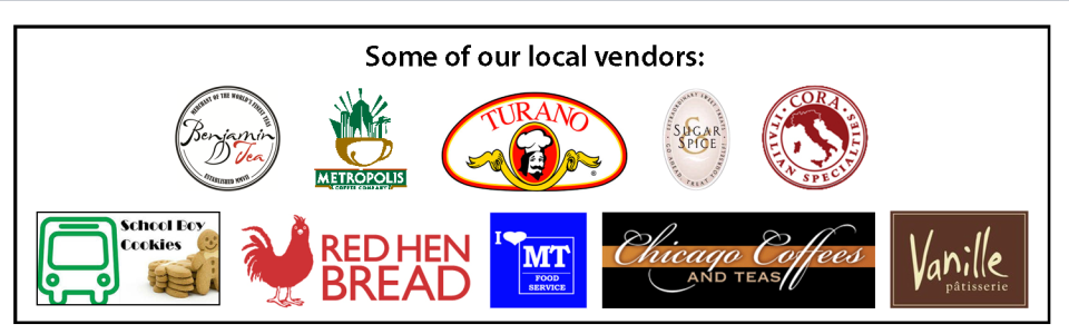 Some of our local vendors