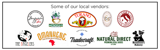 Our Local Vendors!